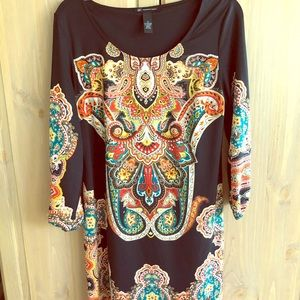 INC long sleeve dress size medium